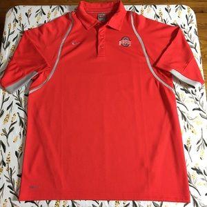 Nike men's Ohio State Buckeyes polo